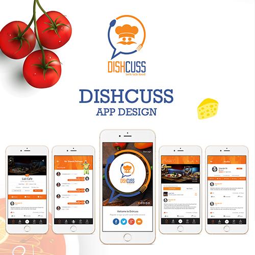 Dishcuss App Design
