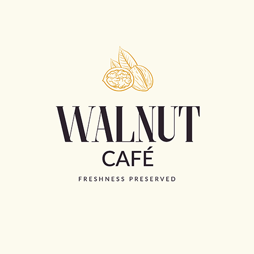 Walnut Cafe Branding