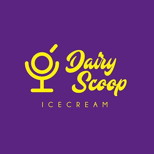 Dairy Scoop Branding