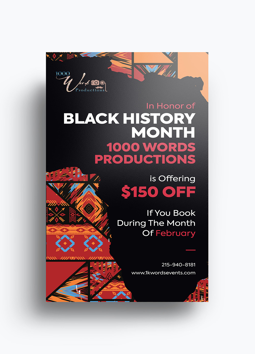BHM Flyer Design