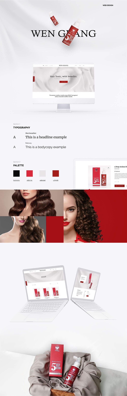 Wen Guang Website Design